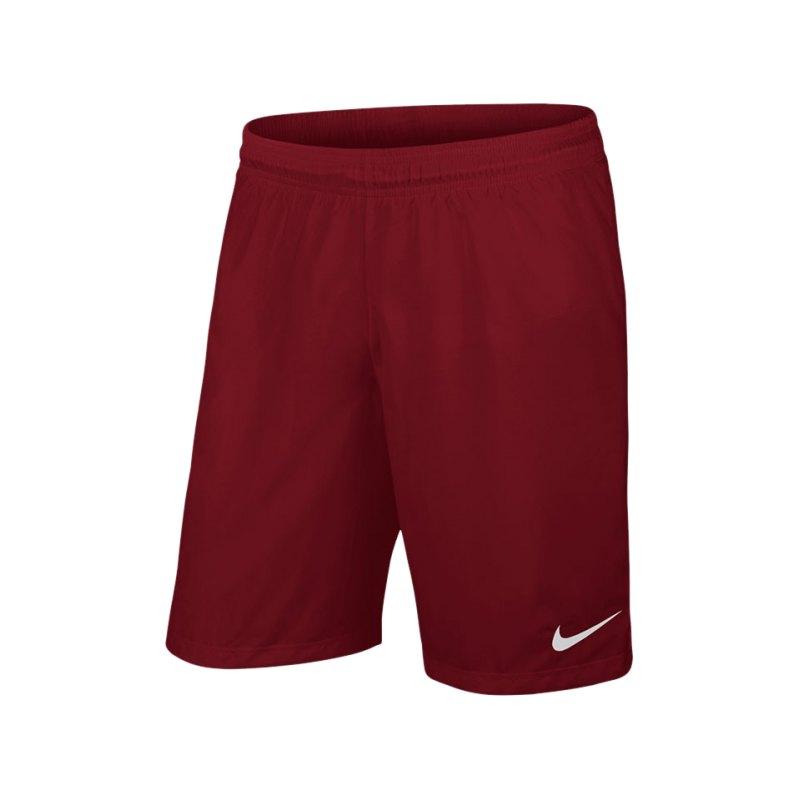 Nike Short ohne Innenslip Laser III Kinder F677 - rot