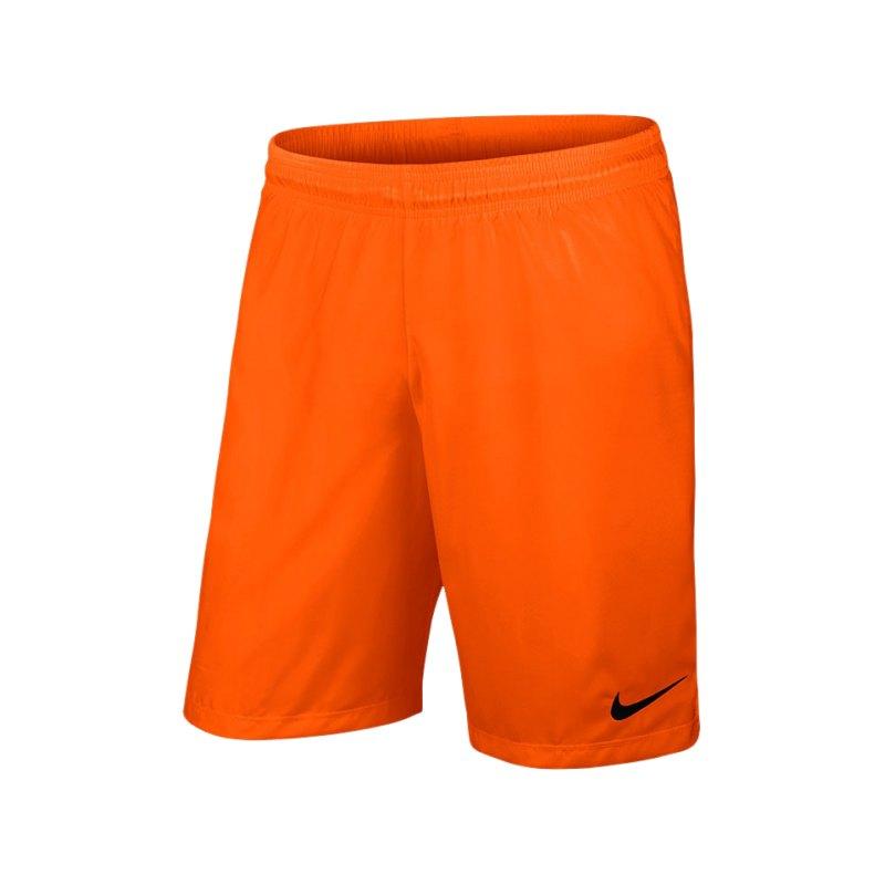 Nike Short ohne Innenslip Laser III Kinder F815 - orange
