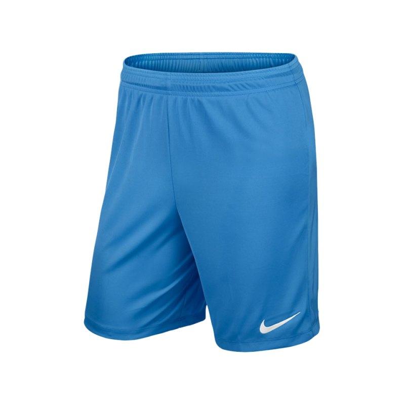 Nike Short mit Innenslip Park II Kinder F412 - blau