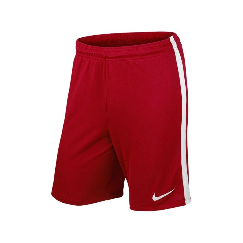 Nike Short ohne Innenslip League Knit Kinder F657 - rot