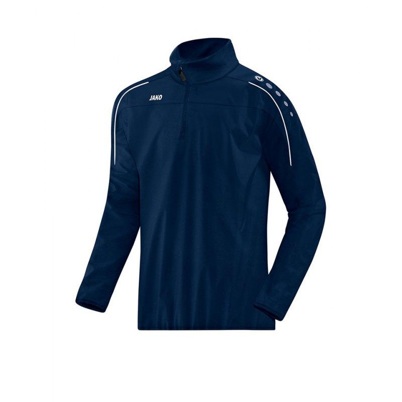 Jako Classico Rainzip Regensweatshirt Kids F09 - blau