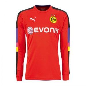 PUMA Torwarttrikot 16/17 BVB Dortmund Rot F03 - rot