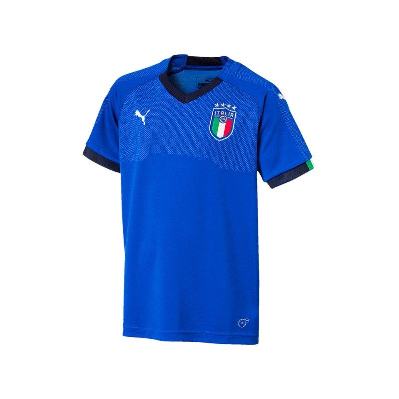 PUMA Italien Home Trikot 2018 Kids Blau F01 - blau