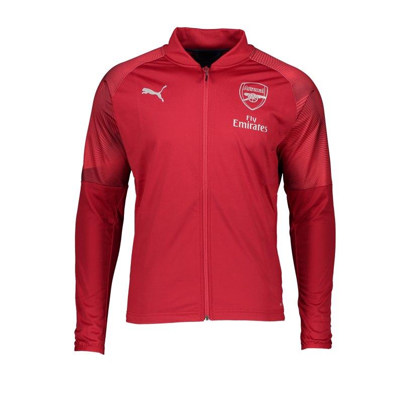 PUMA FC Arsenal Stadium Jacket Jacke Rot F01 - rot