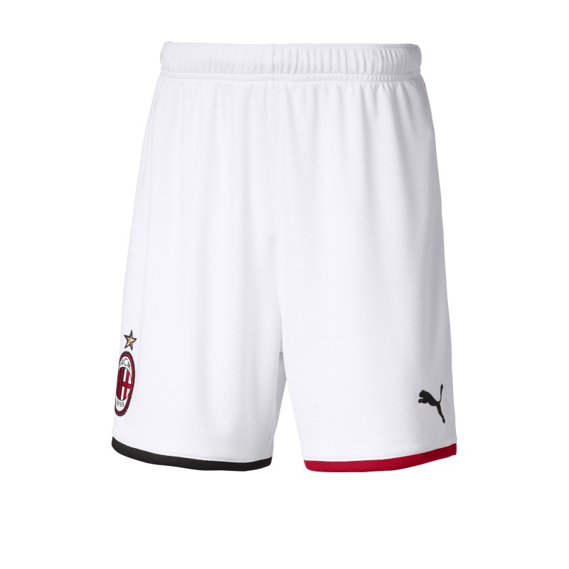 PUMA AC Mailand Short Home 19/20 Kids Weiss F02 - Weiss