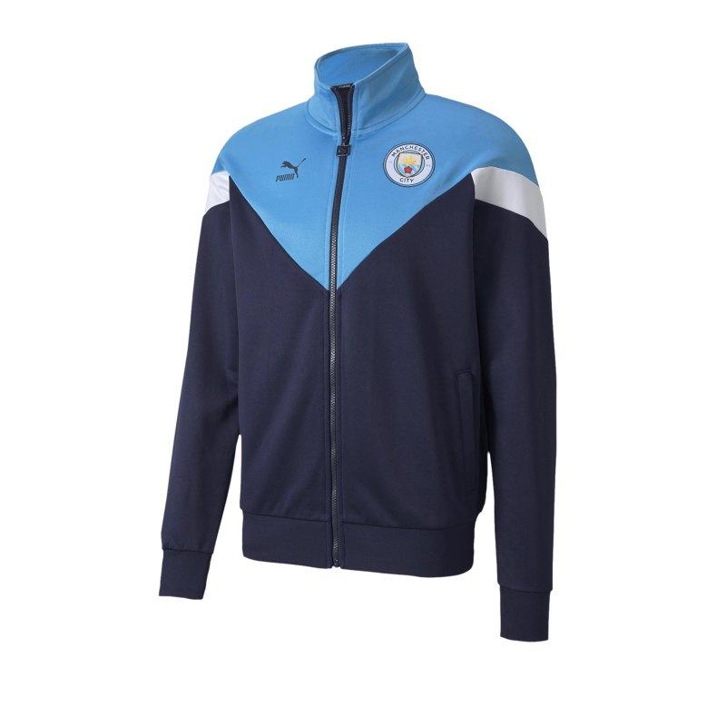 Puma Manchester City Track Jacket Jacke F25 - blau