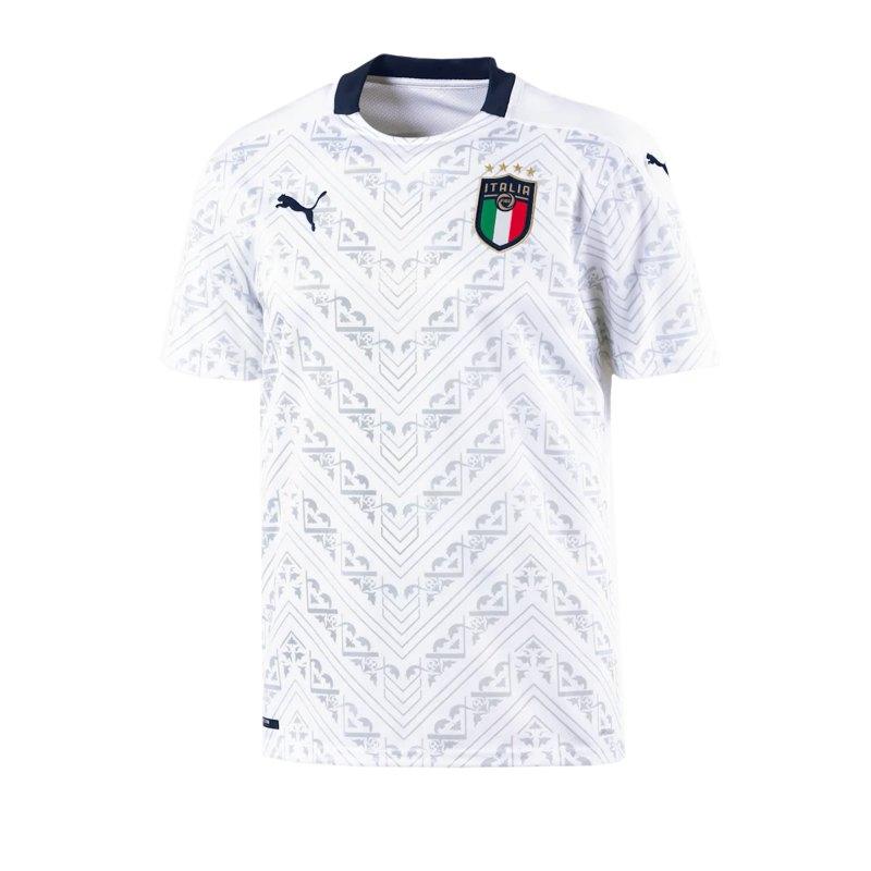 PUMA Italien Away Trikot EM 2020 Weiss F08 - weiss