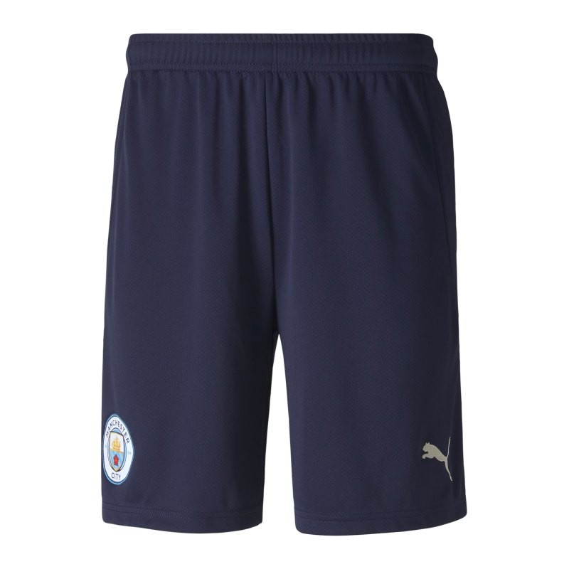 PUMA Manchester City Short UCL 2020/2021 Blau F06 - blau