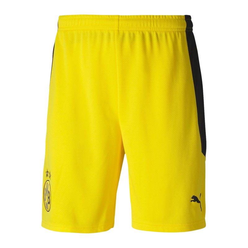 PUMA BVB Dortmund Short Home 2020/2021 Gelb F01 - gelb