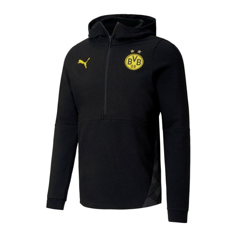 PUMA BVB Dortmund Casuals Drilltop F02 - schwarz