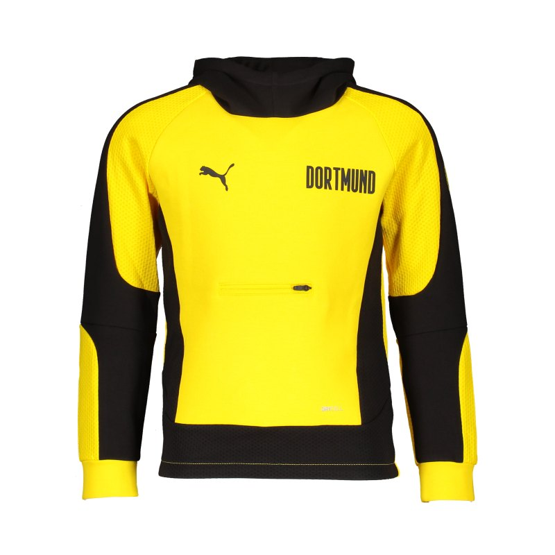 PUMA BVB Dortmund Evostripe Hoody Gelb F01 - gelb