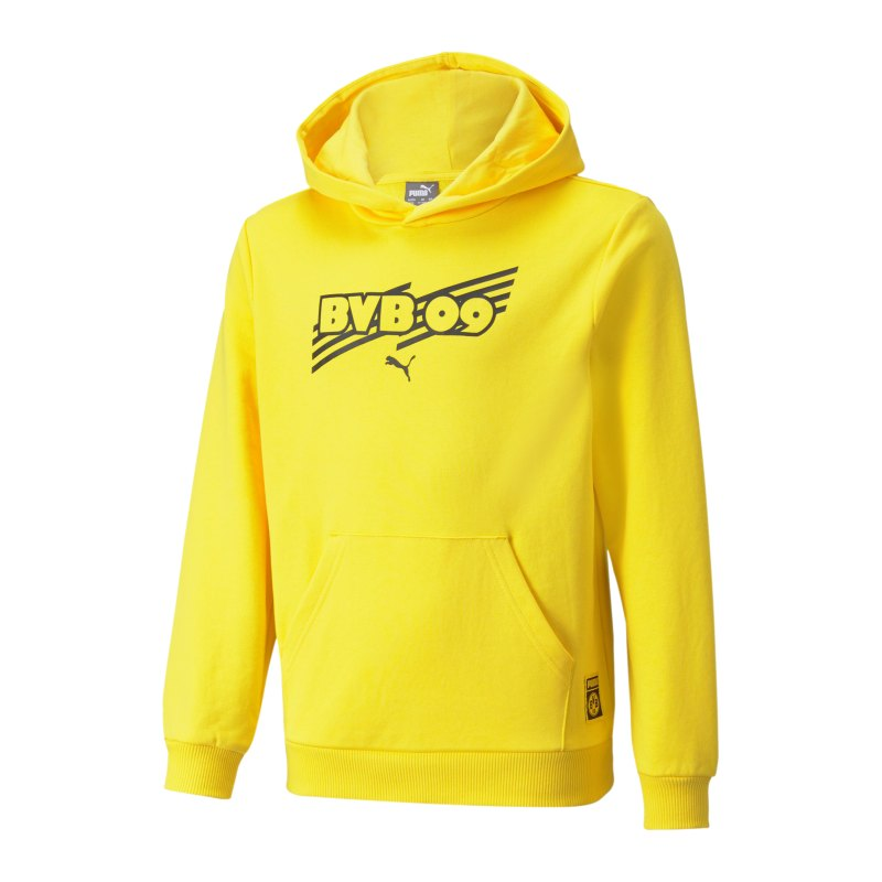 PUMA BVB Dortmund FtblCore Hoody Kids F01 - gelb