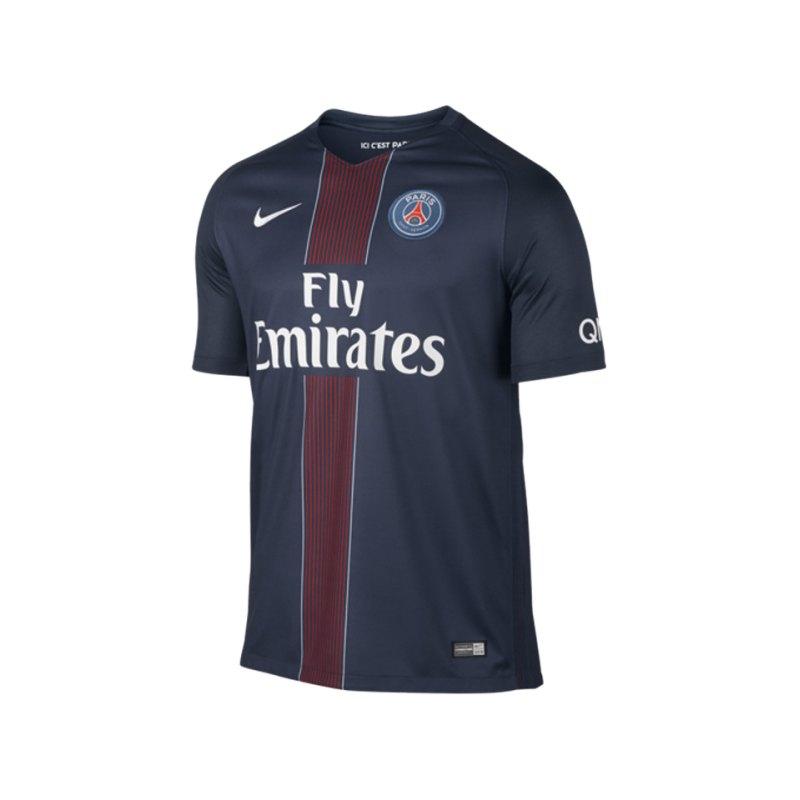 Nike Trikot Home 2016/2017 Paris St. Germain F410 - blau
