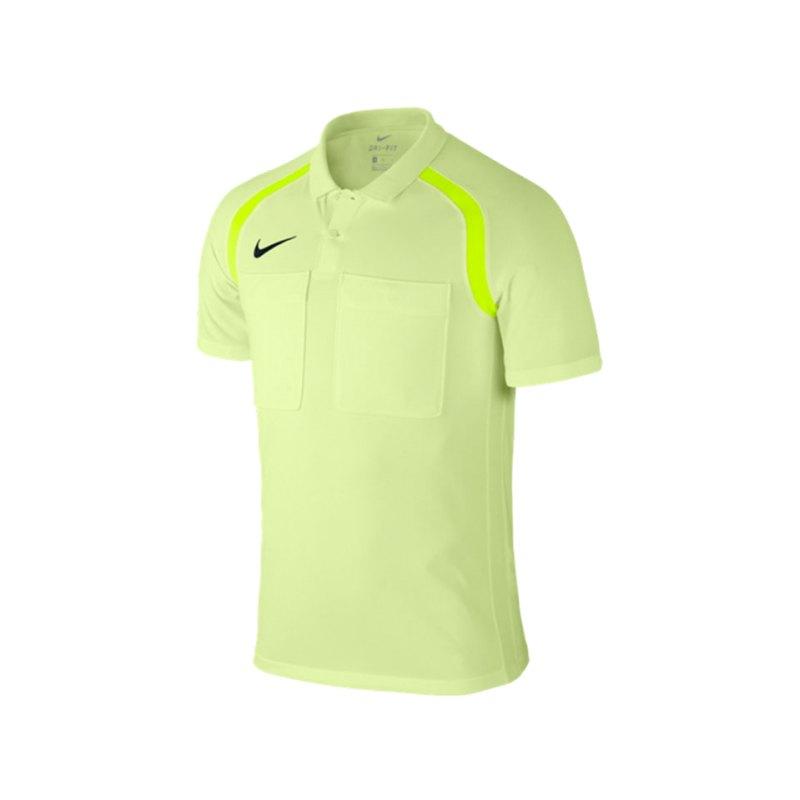 Nike Referee Dry Top Trikot kurzarm Gelb F701 - gelb