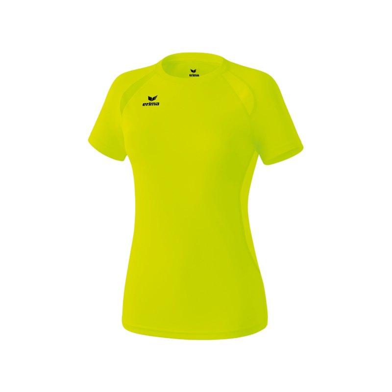 Erima T-Shirt Nordic Walking Damen Gelb - gelb