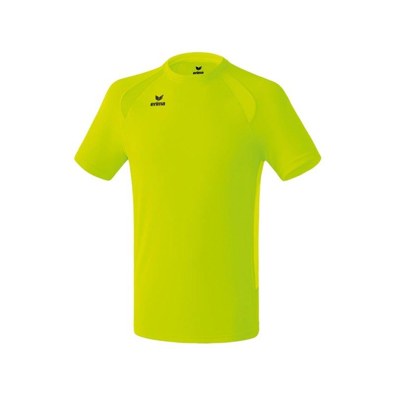 Erima Performance T-Shirt Gelb - gelb