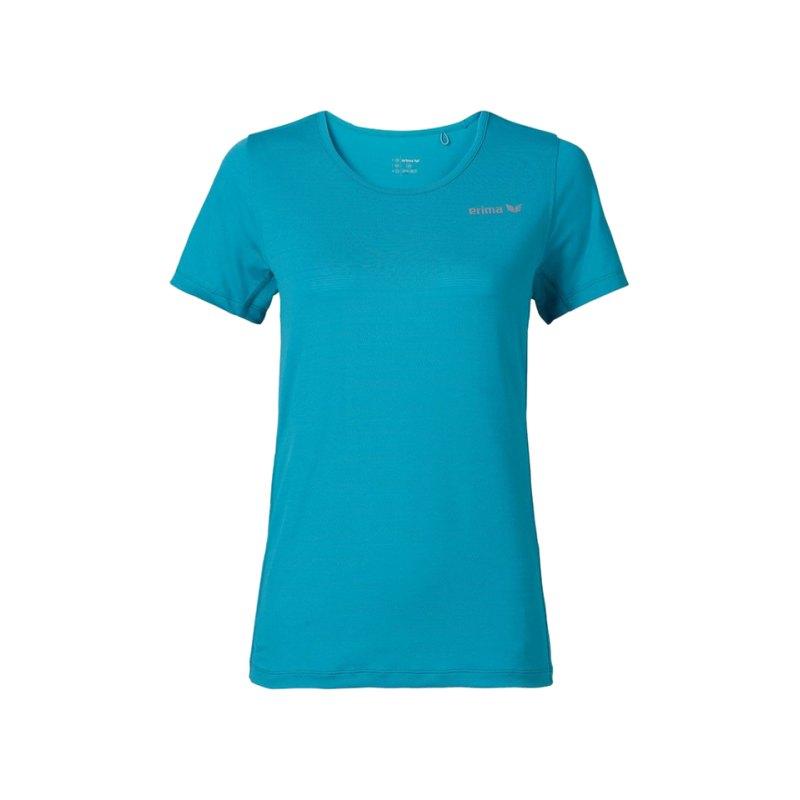 Erima Green Concept T-Shirt Running Damen Blau - blau