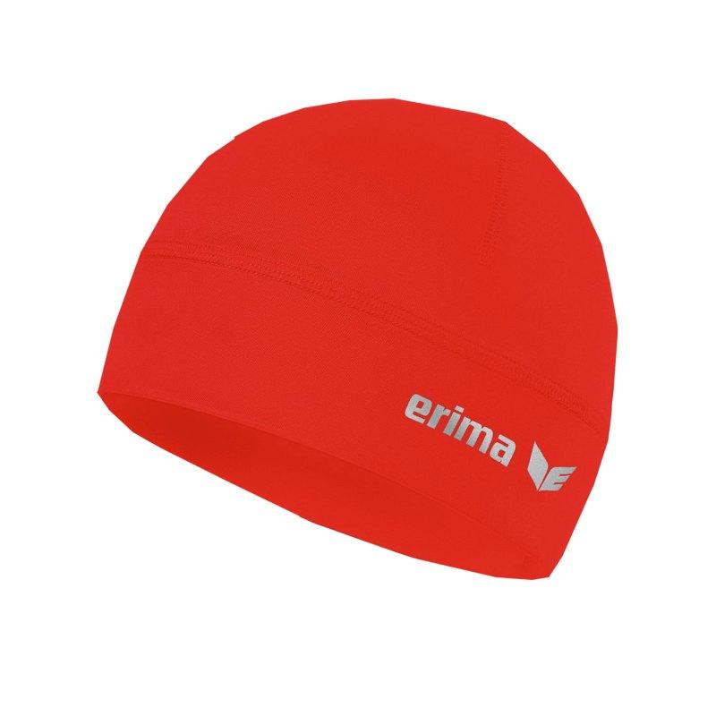 Erima Performance Beanie Rot - rot