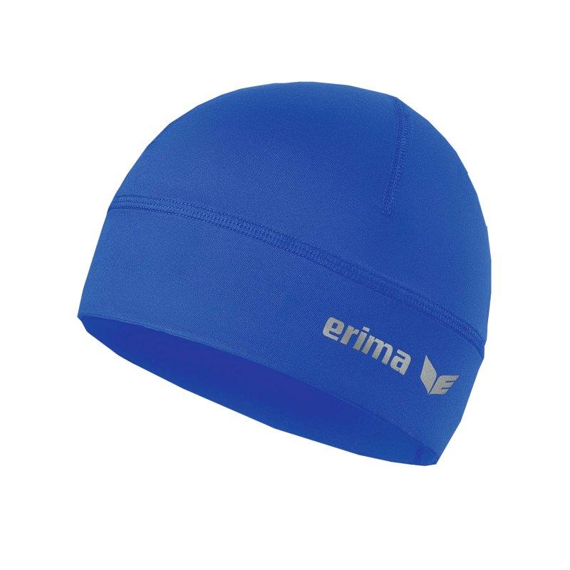 Erima Performance Beanie Blau - blau