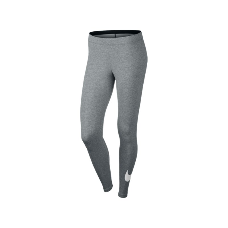 Nike Legging Club Training Damen Grau F063 - grau
