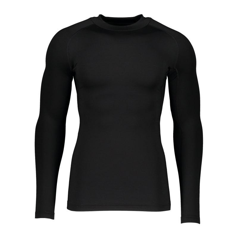 Nike NP Hyperwarm Max Comp Mock Sweatshirt F010 - schwarz