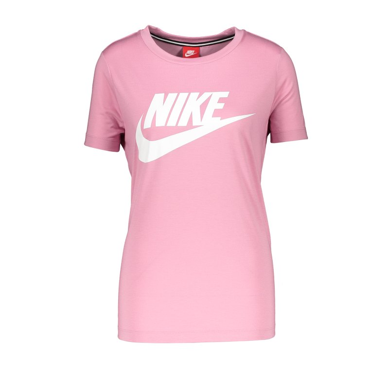 Nike Essential Tee T-Shirt Damen Pink F678 - pink