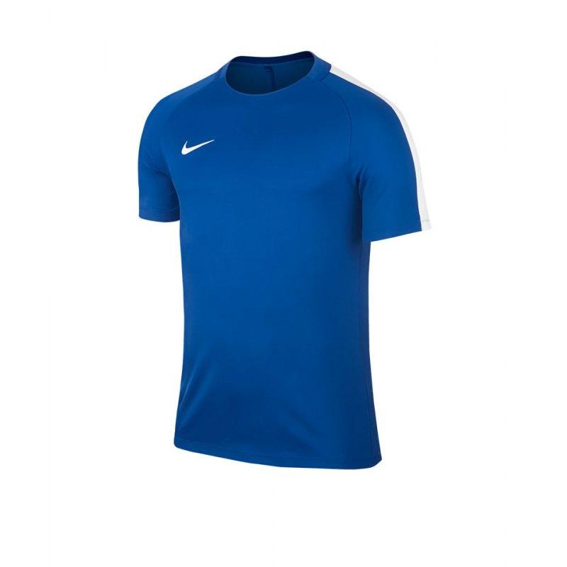 Nike Trainingstop Squad 17 Dry Blau Weiss F463 - blau
