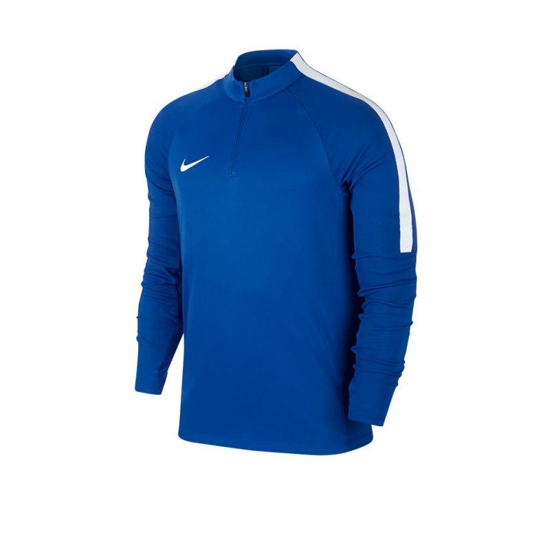 Nike Dry Drill Top 1/4 Zip LS Squad 17 Blau F463 - blau