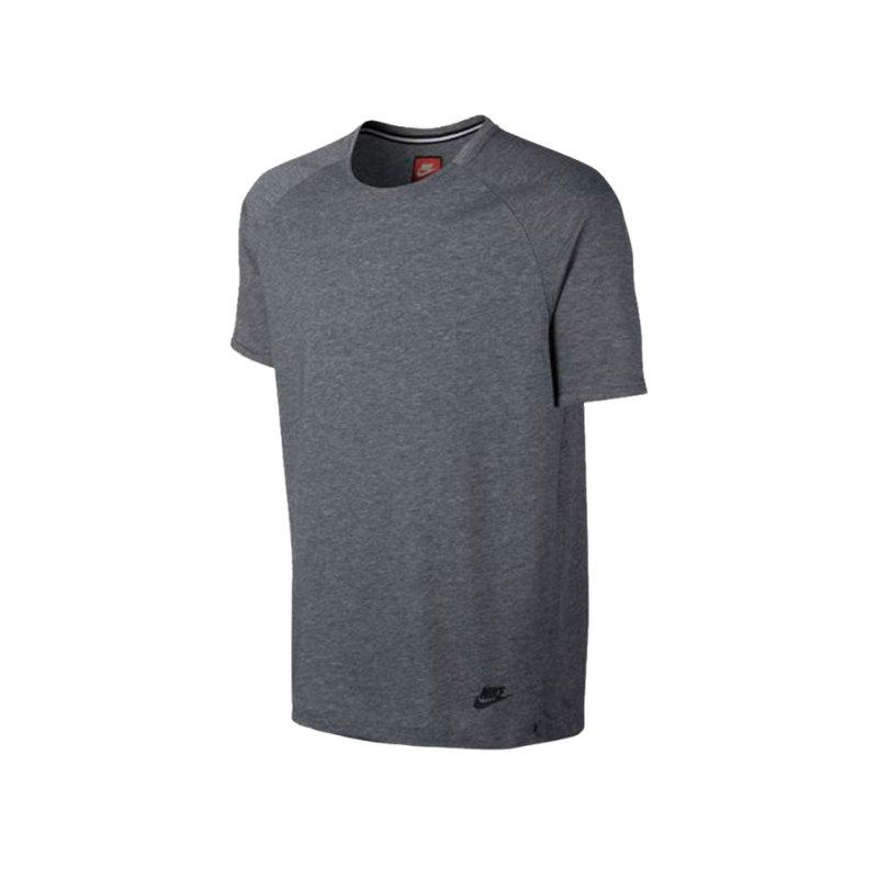 Nike T-Shirt Bonded Top Grau F091 - grau