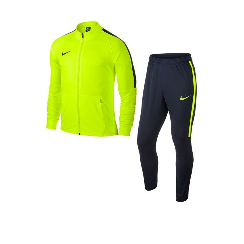 Nike Trainingsanzug Squad 17 Dry Gelb Blau F702 - gelb