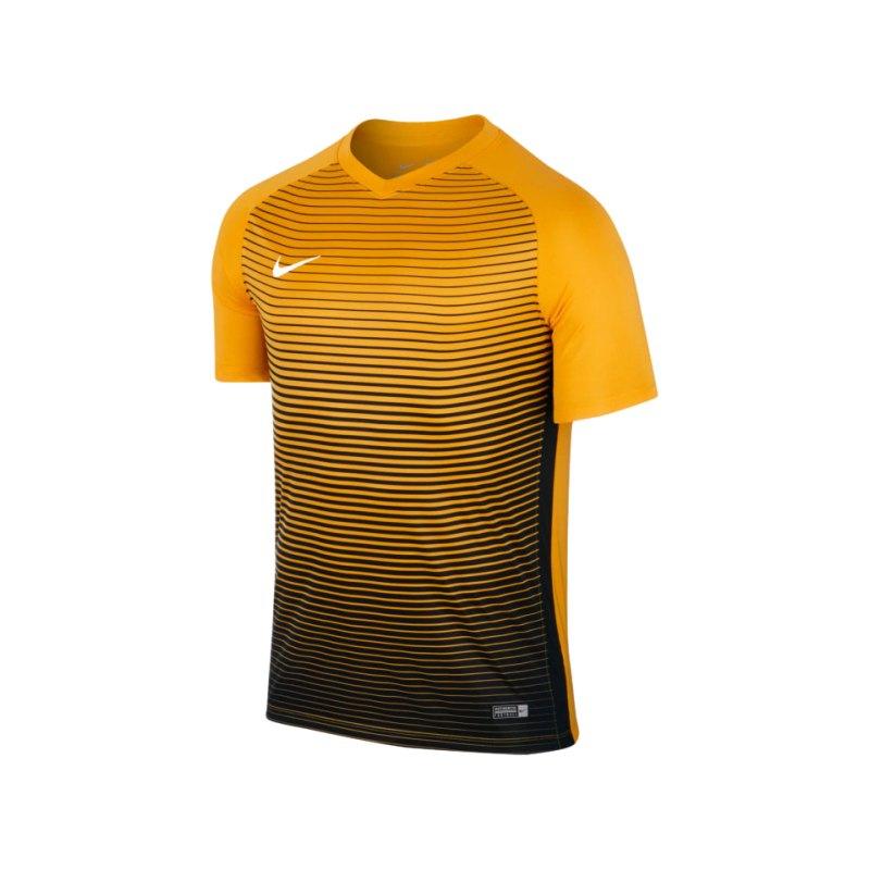 Nike kurzarm Trikot Precision IV Gelb F739 - gelb