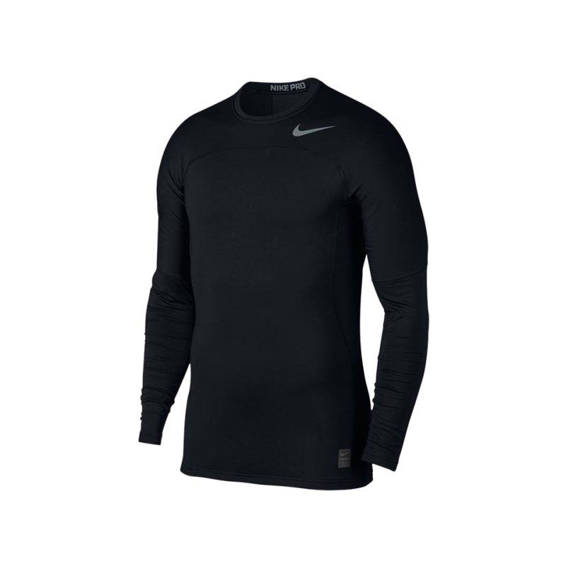 Nike Pro Hyperwarm Longsleeve Top F010 - schwarz