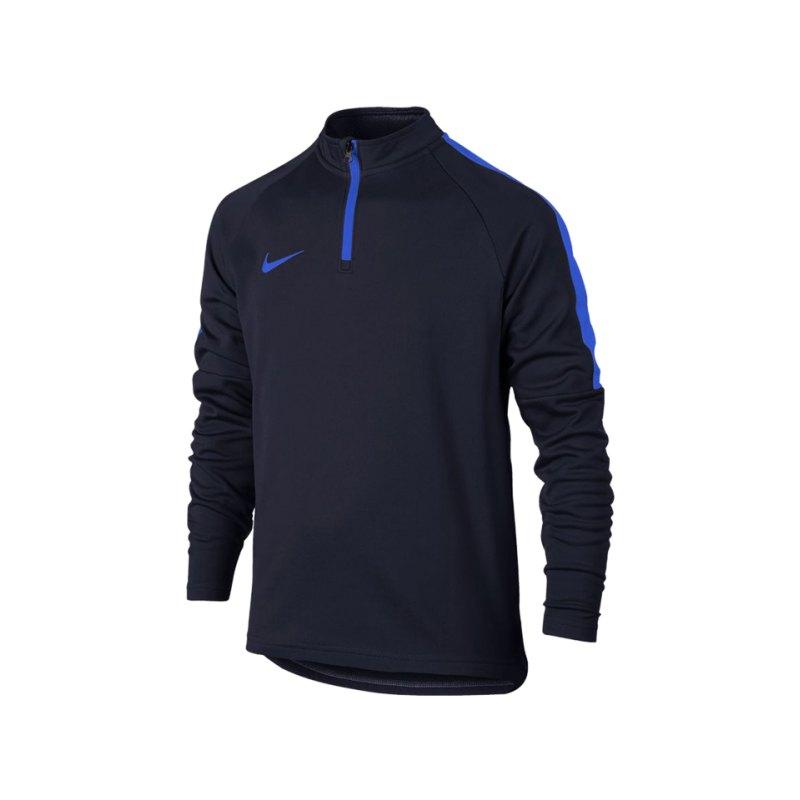 Nike Dry Academy Football Drill Top LS Kids F460 - blau