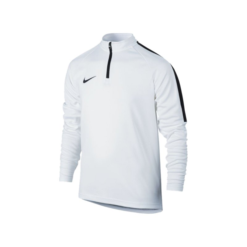 Nike Top LS Dry Academy Football Drill Kinder F100 - weiss