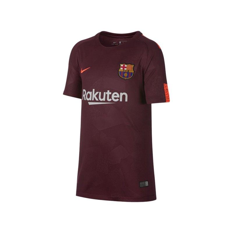 Nike Trikot UCL 2017/2018 FC Barcelona Kinder F683 - rot