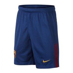 Nike Short Home Kinder 2017/2018 FC Barcelona F455 - blau