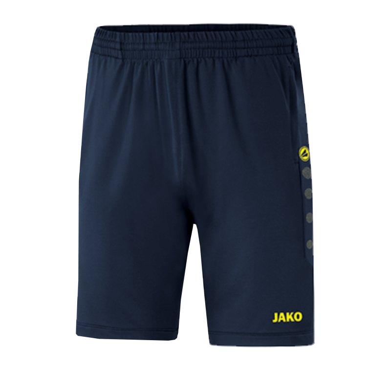 JAKO Premium Trainingsshort Kids Blau F93 - blau