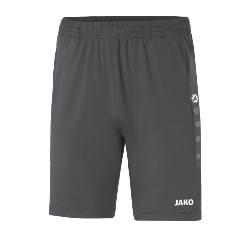 JAKO Premium Trainingsshort Kids Grau F48 - grau