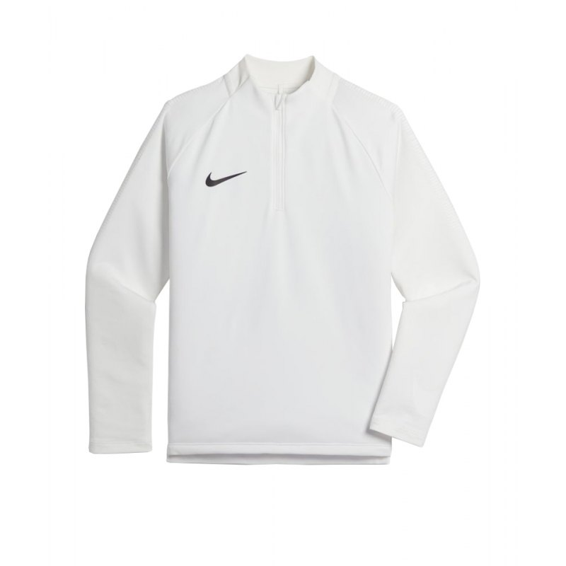Nike Dry Football Drill Top 1/4 Zip Kids F101 - weiss