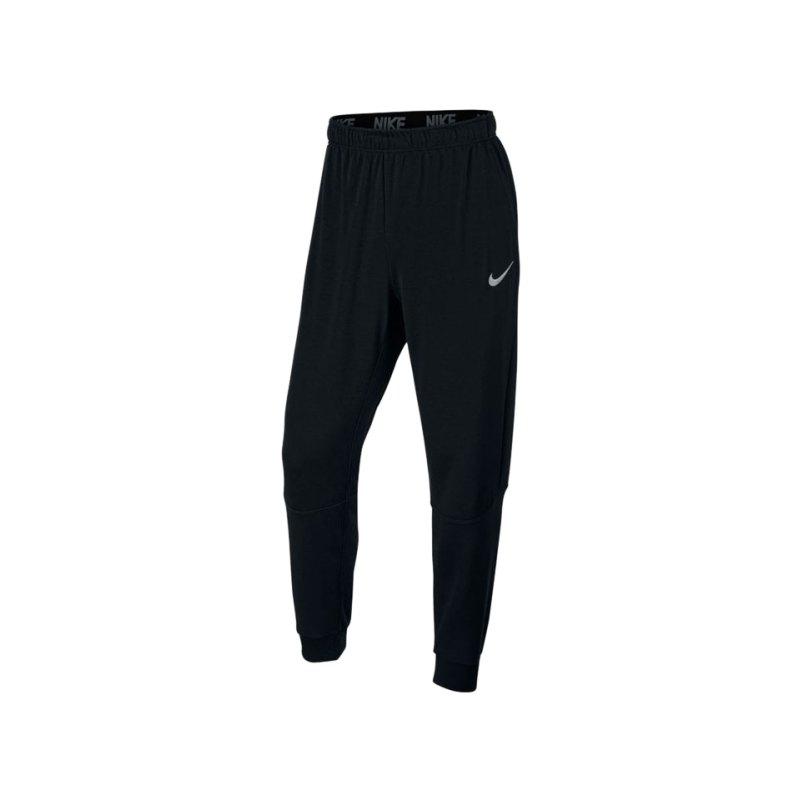 Nike Pant Dry Training Hose lang Schwarz F010 - schwarz