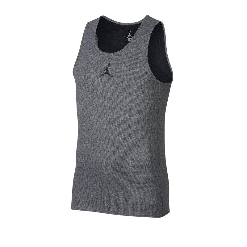 Nike Rise Basketball Tank Top Grau F091 - Grau
