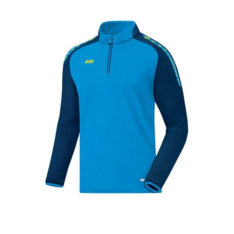 Jako Ziptop Champ Blau Gelb F89 - blau