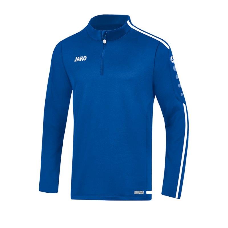 Jako Striker 2.0 Ziptop Blau Weiss F04 - Blau