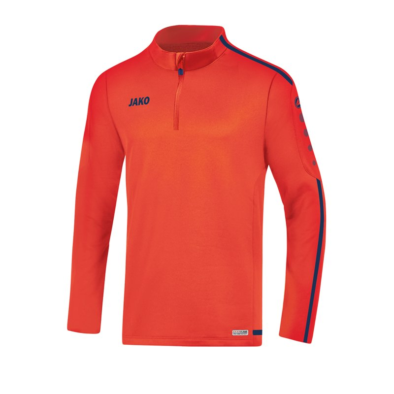 Jako Striker 2.0 Ziptop Kids Orange Blau F18 - Orange