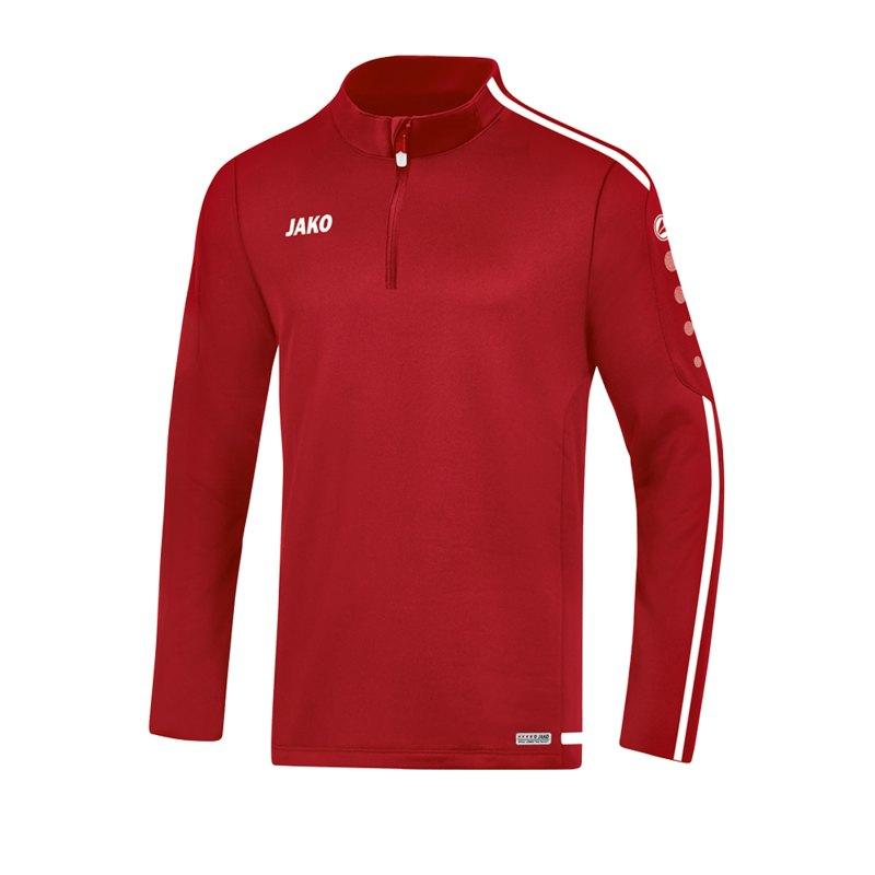 Jako Striker 2.0 Ziptop Rot Weiss F11 - Rot