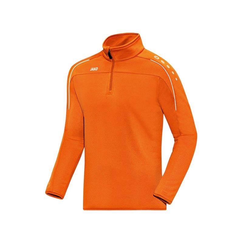 Jako Classico Ziptop Orange F19 - Orange