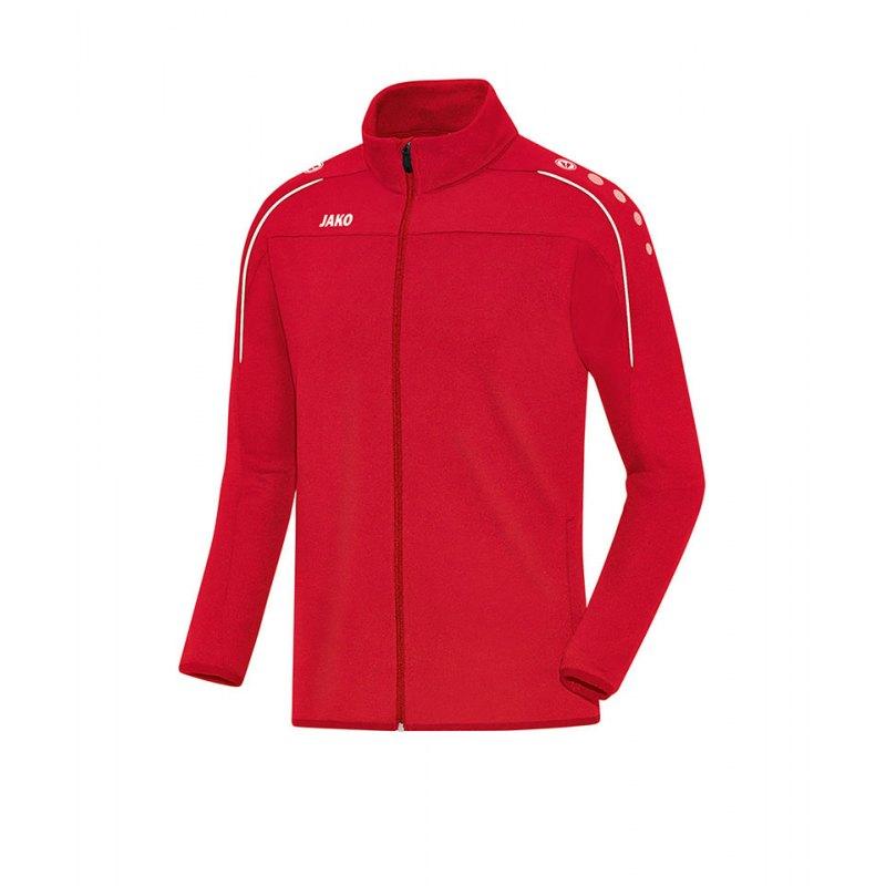 Jako Trainingsjacke Classico Rot Weiss F01 - rot