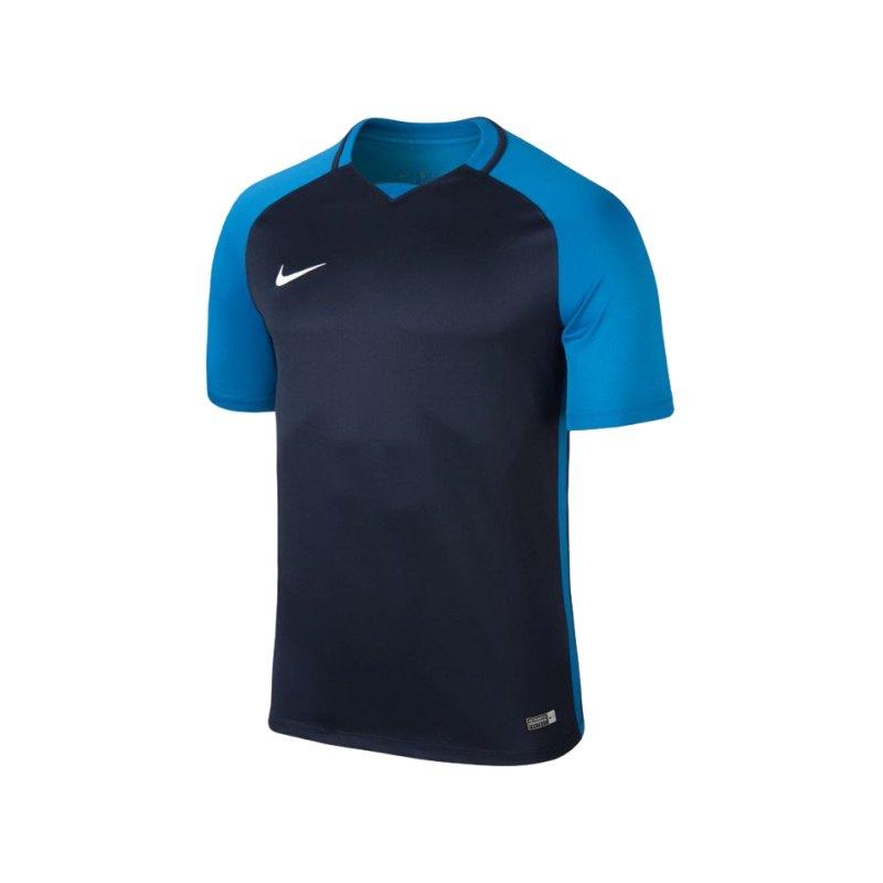 Nike kurzarm Trikot Trophy III Dry Team Blau F411 - blau
