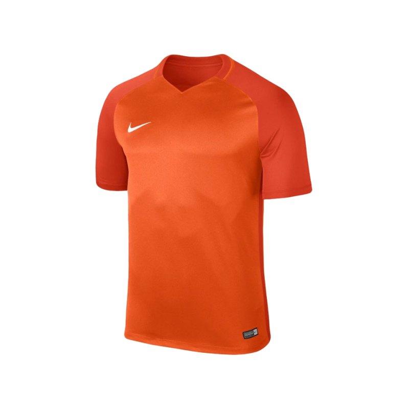 Nike kurzarm Trikot Trophy III Dry Team F815 - orange