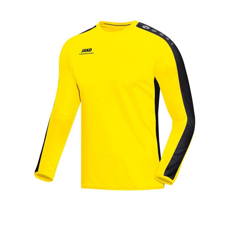 Jako Sweatshirt Striker Gelb Schwarz F03 - gelb